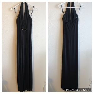 Laundry Black Halter Dress